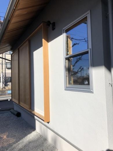 外壁、外構工事 色合わせ_a0129492_15493530.jpeg