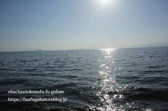 もうすぐ春の琵琶湖散歩&岩崎珈琲さんへ行って来た~(^^♪_c0326245_13162863.jpg