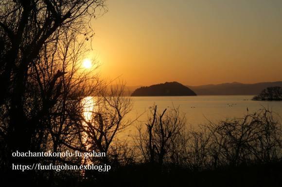 もうすぐ春の琵琶湖散歩&岩崎珈琲さんへ行って来た~(^^♪_c0326245_13174961.jpg