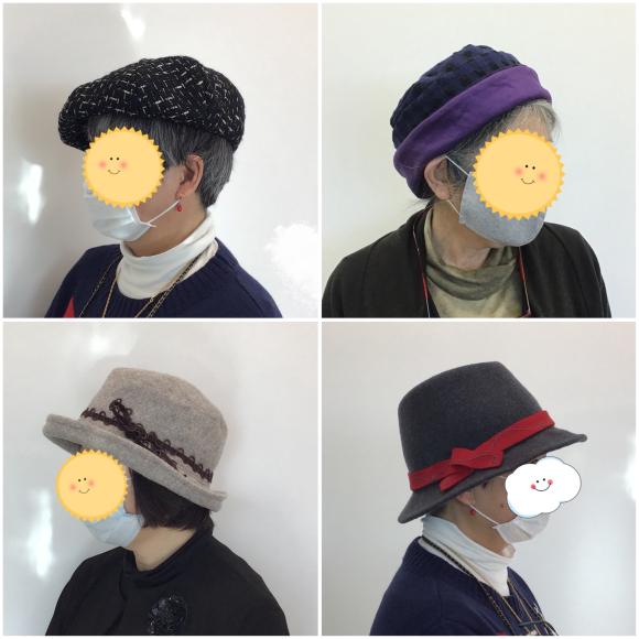 【あなただけの帽子作り講座】生徒さんの作品です♪_c0357605_17270665.jpeg