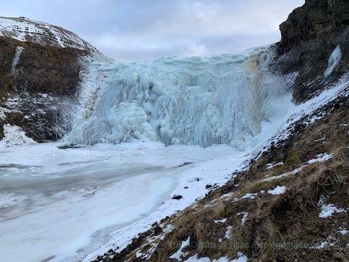 冬のアイスランド、滝はつらら王国_c0003620_07030537.jpg