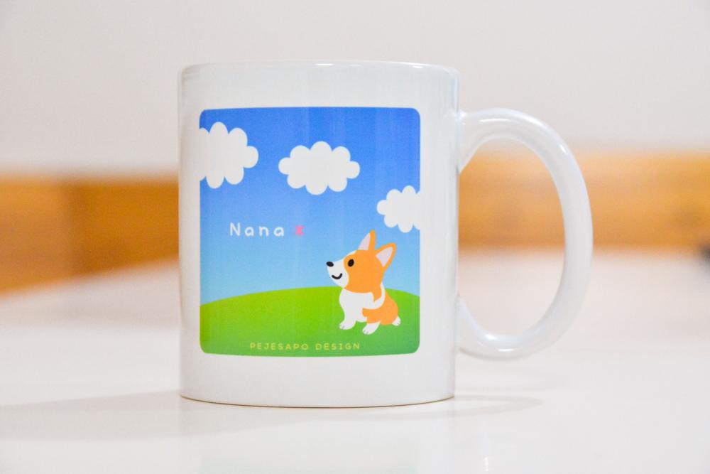 ナナちゃんマグカップ_d0102523_16300185.jpg