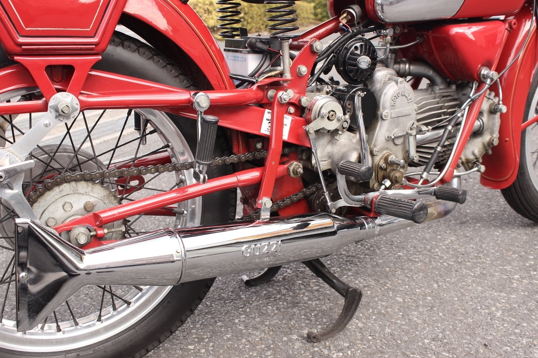 Moto Guzzi Falcone Sport 入庫_a0208987_14360603.jpeg
