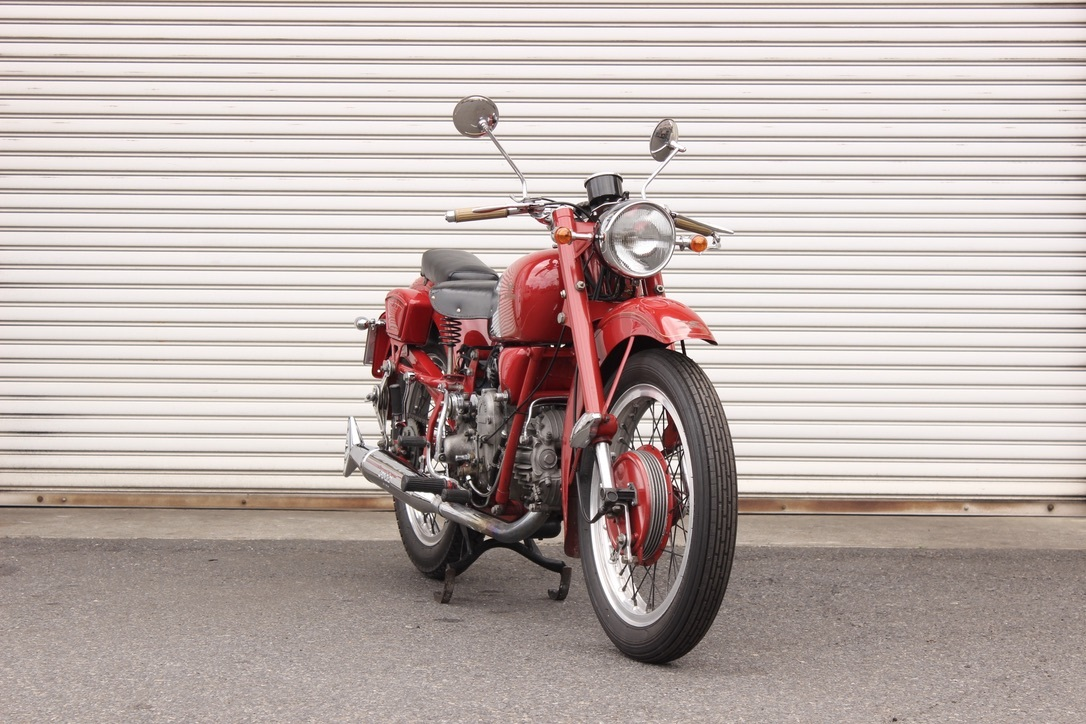 Moto Guzzi Falcone Sport 入庫_a0208987_14362656.jpeg
