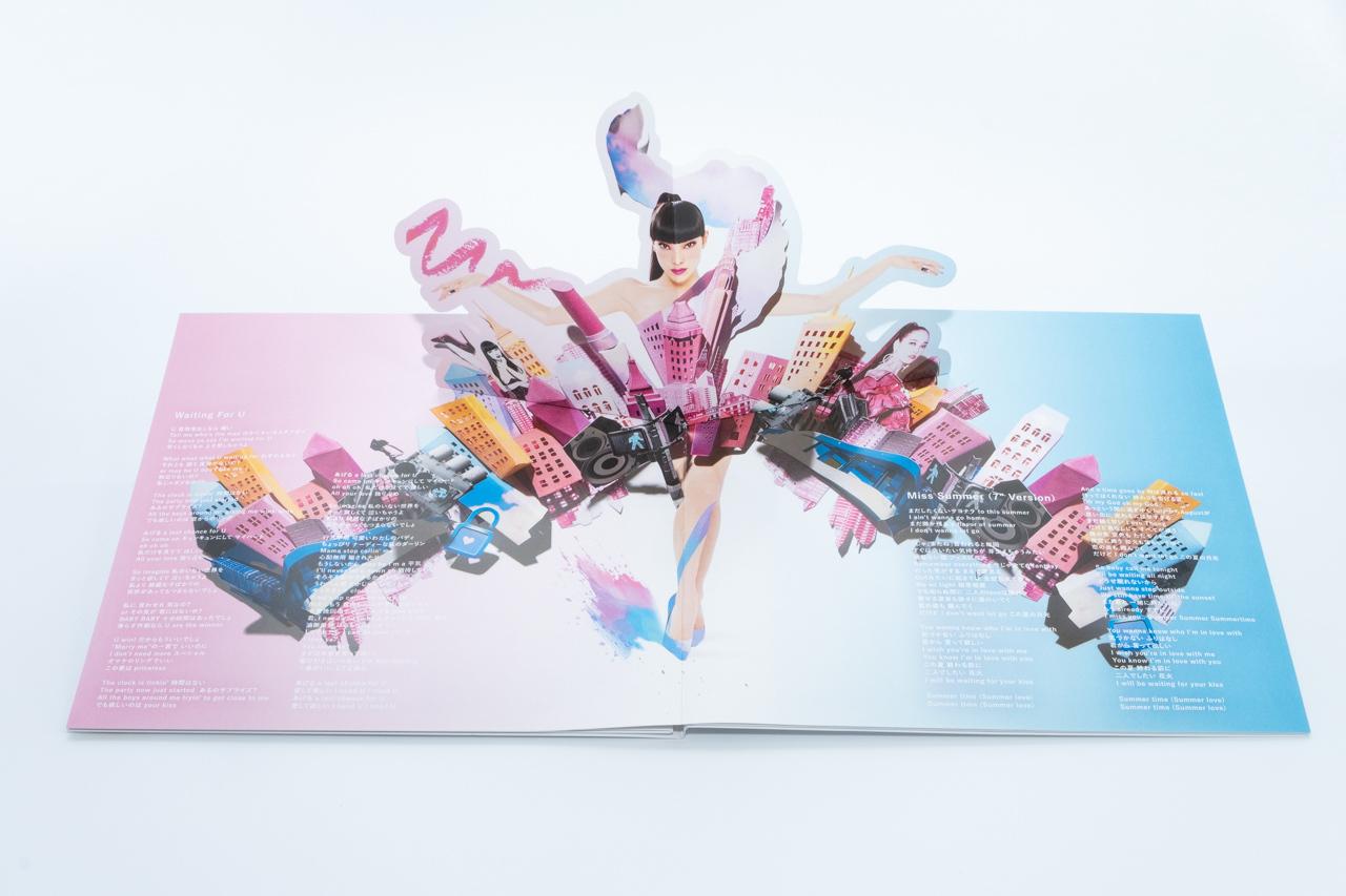 TANAKA ALICE 2nd. vinyl『Waiting For U』アナログ盤ジャケット_d0095746_17543637.jpg