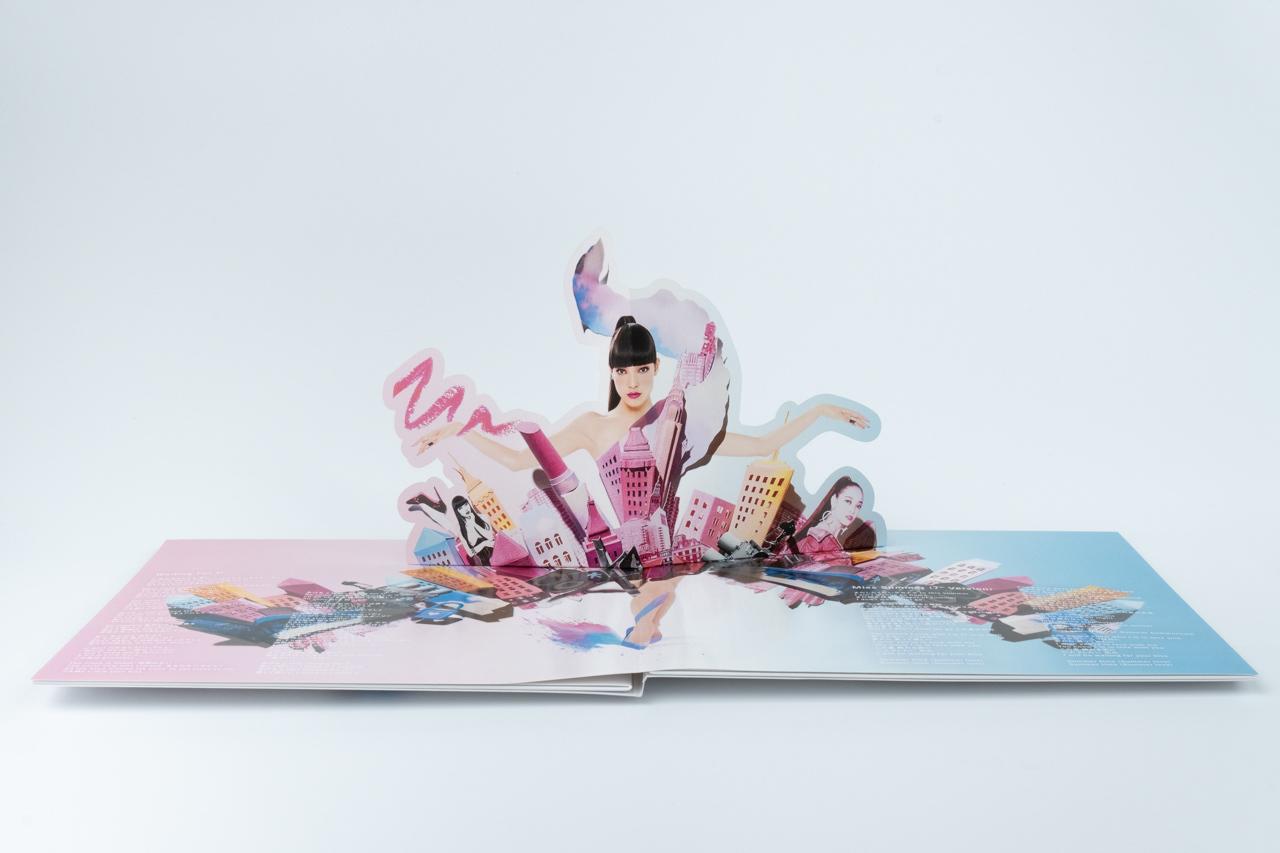TANAKA ALICE 2nd. vinyl『Waiting For U』アナログ盤ジャケット_d0095746_17543654.jpg