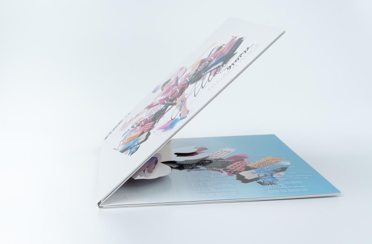 TANAKA ALICE 2nd. vinyl『Waiting For U』アナログ盤ジャケット_d0095746_17543682.jpg