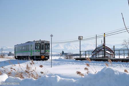 雪景色と美瑛からの列車~1月_d0340565_20204704.jpg