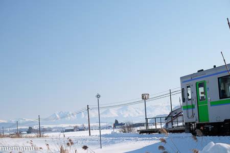 雪景色と美瑛からの列車~1月_d0340565_20205308.jpg