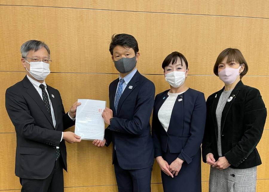 東京2020大会の成功に向けジェンダー平等の徹底を求める要請書_f0059673_18350093.jpg