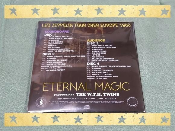 LED ZEPPELIN / ETERNAL MAGIC_b0042308_13402172.jpg