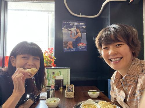 マユミさんとランチ♪_f0373339_11002676.jpeg