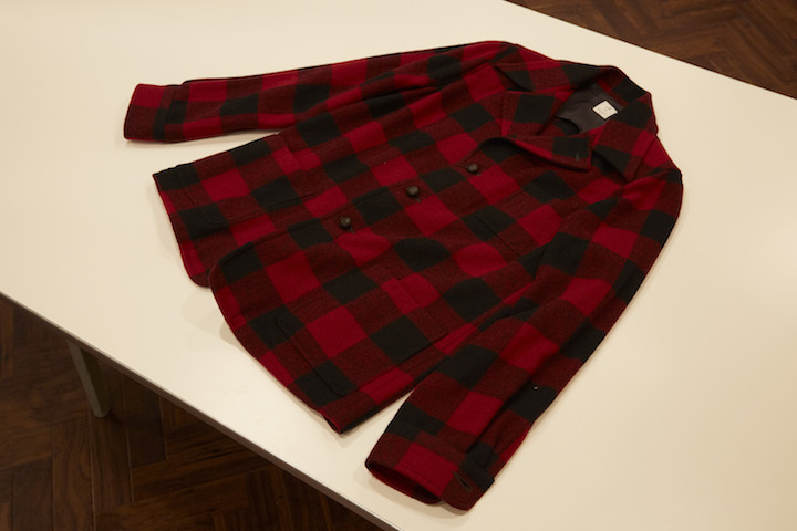 """ANATOMICA LOAFER JACKET RED CHECK\""ってこんなこと。_c0140560_12343824.jpg"