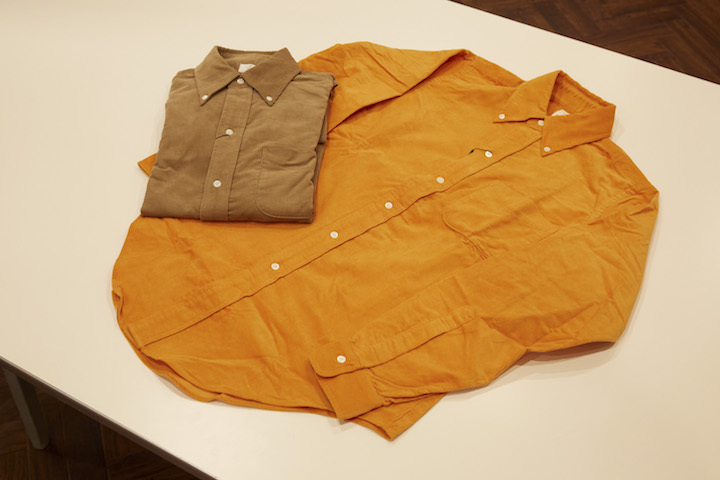 """ANATOMICA BD SHIRT UK BABY CORDS\""ってこんなこと。_c0140560_12435995.jpg"