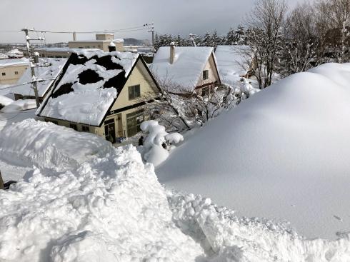 豪雪岩見沢のドカドカ雪 2_c0189970_11440238.jpg