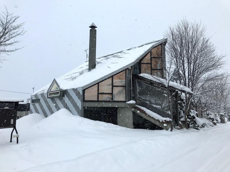 自邸の積雪状況2021/3_c0189970_18050092.jpg