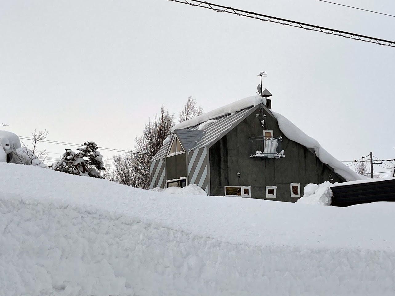 自邸の積雪状況2021/3_c0189970_18063596.jpg