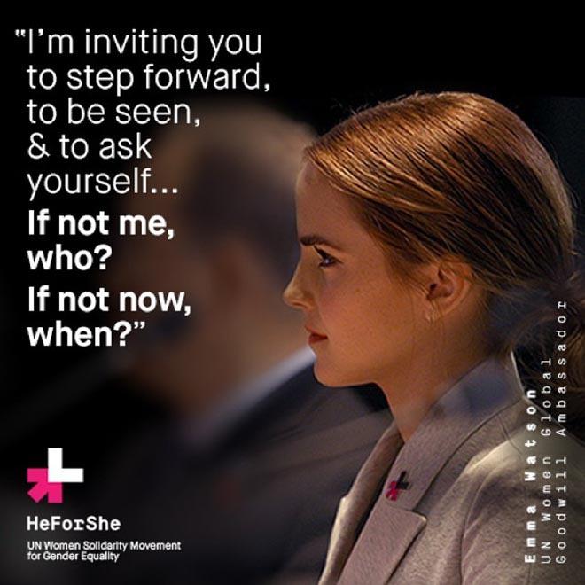 批判ばかりじゃ何も変わらないので、Emma Watson He For She Speech (日本語訳付)など如何でしょう?_b0007805_22374957.jpg