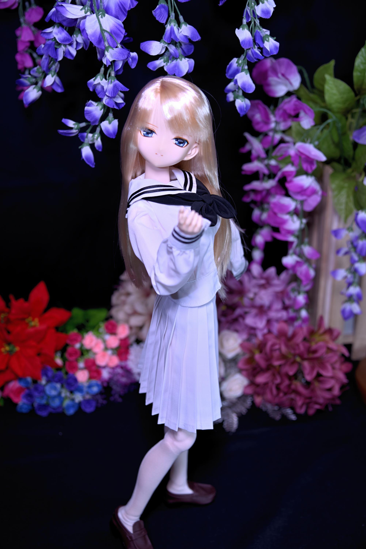 セシリーさんの魅力・・・其の七拾(女学院セーラー服)_f0377222_00402907.jpg