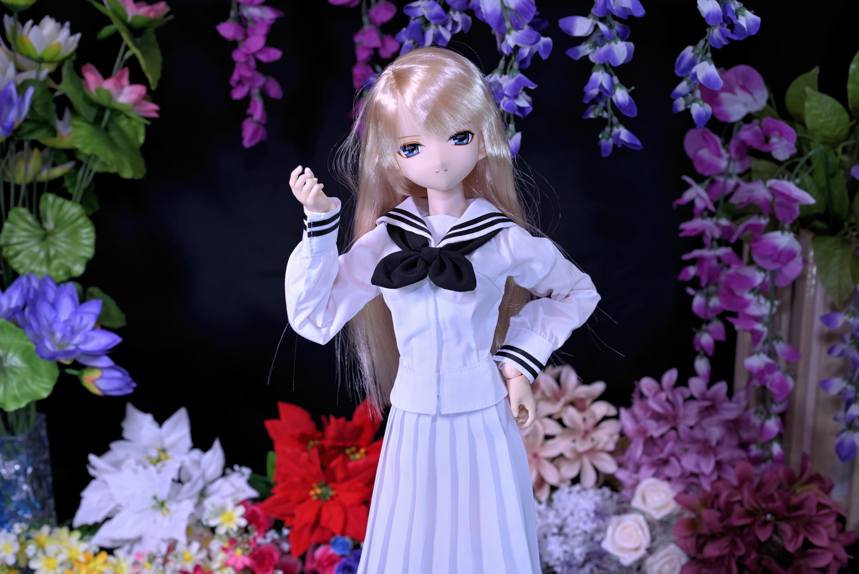 セシリーさんの魅力・・・其の七拾(女学院セーラー服)_f0377222_00435212.jpg