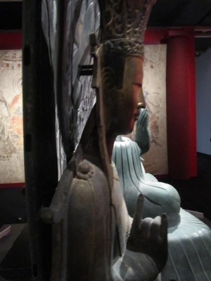 法隆寺釈迦三尊像のクローンが語る歴史_a0237545_21070708.jpg