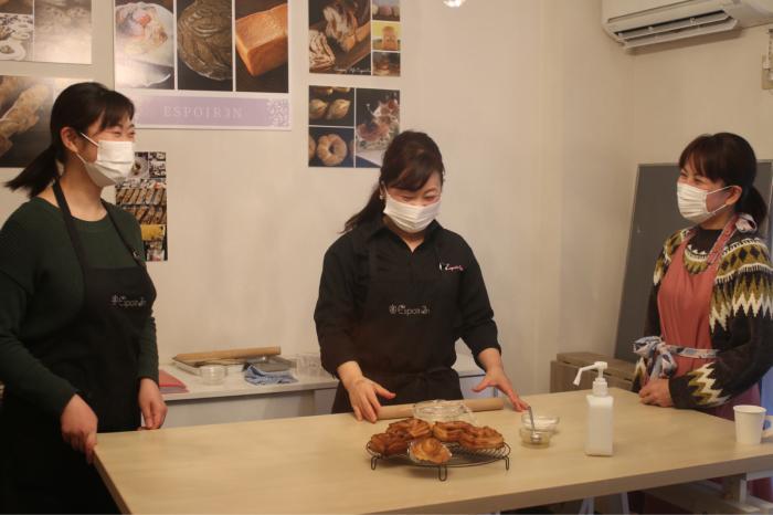 MIX酵母パンレッスン「金柑デニッシュ」努力続けることってすごい!そしてレシピのちがいを発見!!_c0162653_14512724.jpg