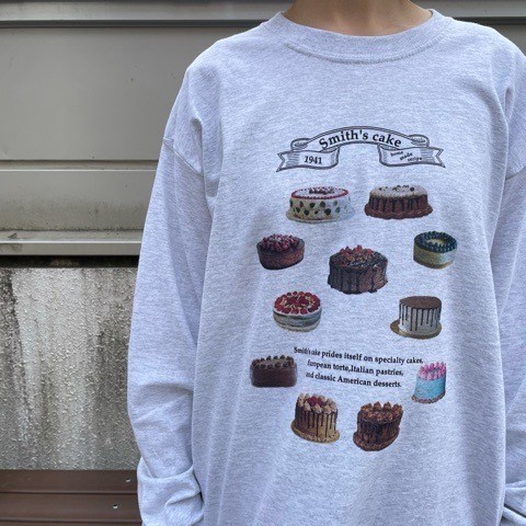 《 fig London 》cake long sleave_a0389054_18153478.jpg