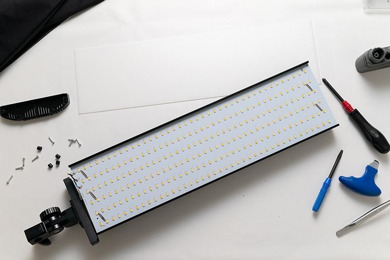 2021/02/12 LP8060B Amazonで購入した安い60W LEDライト_b0171364_23522419.jpg