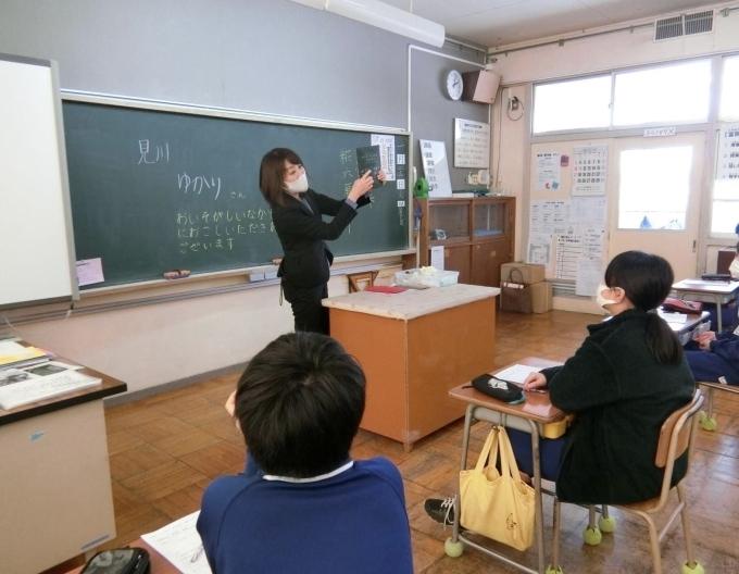 富岡小学校でカレーのお話_d0182179_06091111.jpg