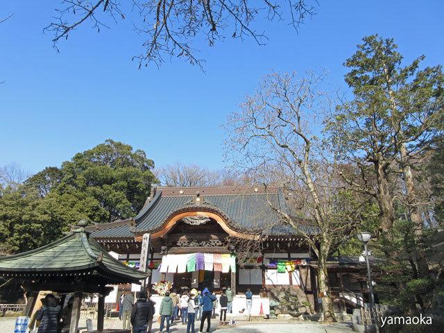 浅春の寺。_f0071480_17212342.jpg