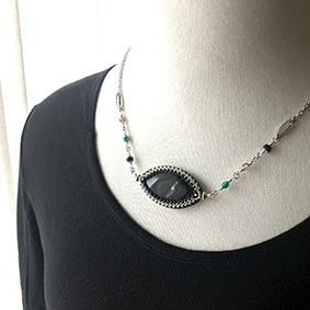 Necklace*Palm jasper_b0327008_23370490.jpg