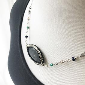 Necklace*Palm jasper_b0327008_23372398.jpg