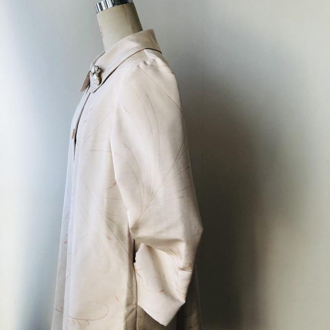 着物リメイク・羽織からAラインワンピース_d0127925_12510973.jpg