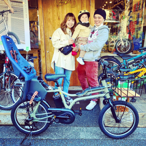 EZ! パナソニックez 電動自転車特集『バイシクルファミリー』Yepp ビッケ ステップクルーズ 電動自転車 おしゃれ自転車 チャイルドシート bobikeone BEAMS bp02 イーゼット_b0212032_16313570.jpeg