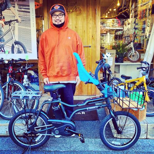 EZ! パナソニックez 電動自転車特集『バイシクルファミリー』Yepp ビッケ ステップクルーズ 電動自転車 おしゃれ自転車 チャイルドシート bobikeone BEAMS bp02 イーゼット_b0212032_16354548.jpeg