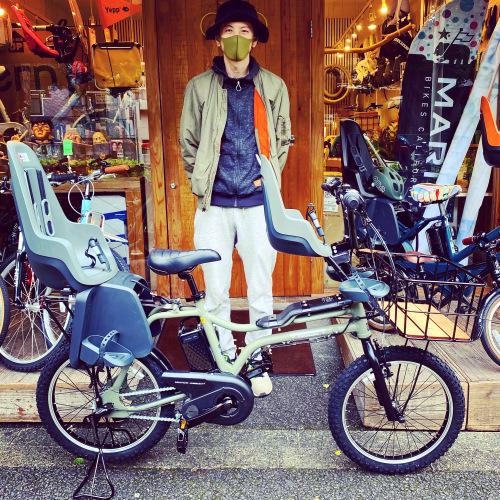 EZ! パナソニックez 電動自転車特集『バイシクルファミリー』Yepp ビッケ ステップクルーズ 電動自転車 おしゃれ自転車 チャイルドシート bobikeone BEAMS bp02 イーゼット_b0212032_16363982.jpeg