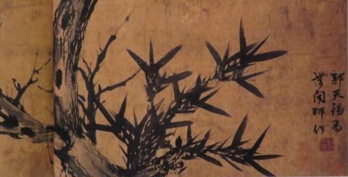 早春!梅花と書画を愉しむ。京博「新聞人のまなざし展」ご紹介、3月7日まで。_a0279738_15415982.jpg