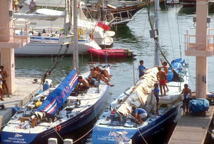 サルデニアと・アメリカズカップ挑戦艇_f0103459_12360443.jpg
