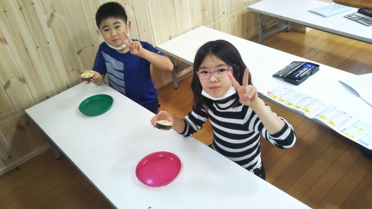 【Snack Cooking】2月10日『おいもの蒸しカップケーキづくりに挑戦!』_f0225094_19472698.jpg
