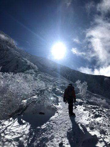 赤岳南峰リッジ左稜・阿弥陀北稜・赤岳主稜_d0237801_15225515.jpg