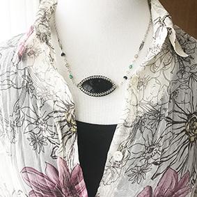 Necklace*Palm jasper_b0327008_14595687.jpg