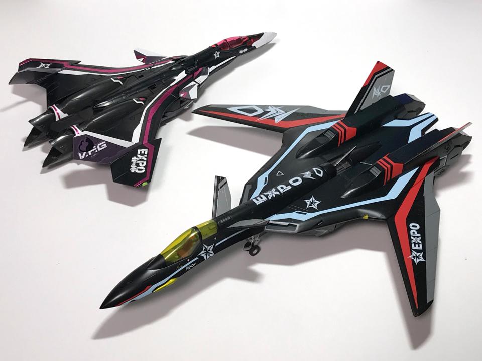 アオシマ V.F.G. VF-31A K-40 limited 黒猫ver.(完成)_b0055614_22010291.jpg
