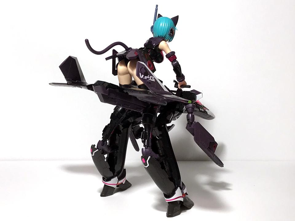 アオシマ V.F.G. VF-31A K-40 limited 黒猫ver.(完成)_b0055614_22011123.jpg