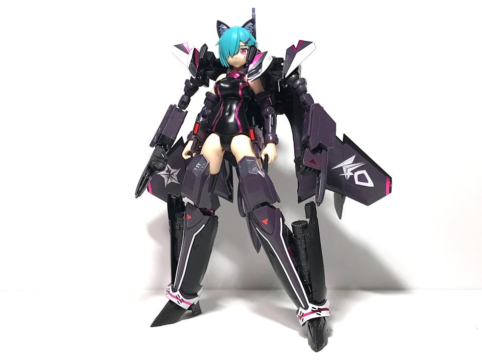 アオシマ V.F.G. VF-31A K-40 limited 黒猫ver.(完成)_b0055614_22011158.jpg