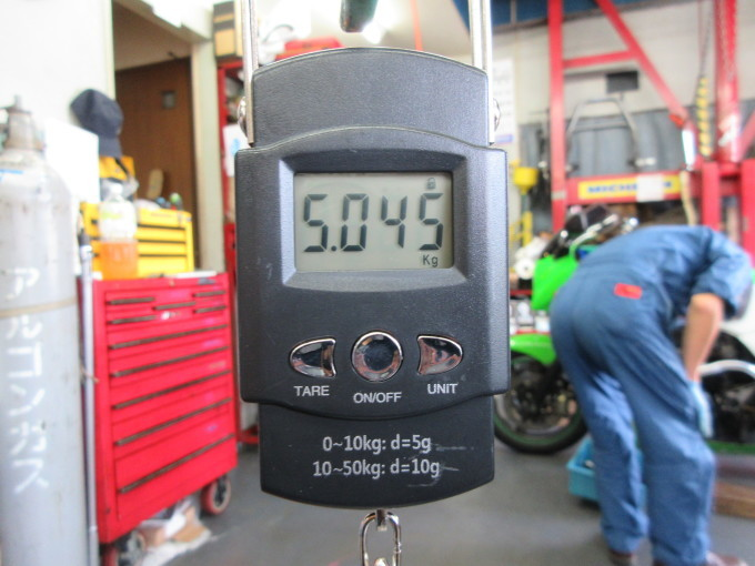 GPZ900R 車検整備・・・その7_a0163159_23430264.jpg