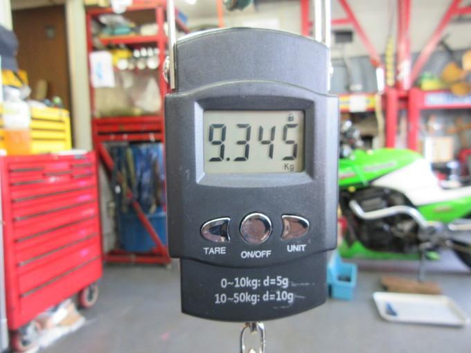 GPZ900R 車検整備・・・その7_a0163159_23432191.jpg