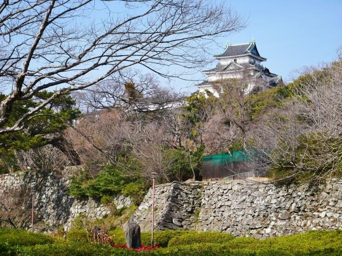 和歌山城冬景色  2021-02-17 00:00_b0093754_22530415.jpg