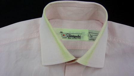 しみのシャツのリフォーム_a0110103_20582793.jpg