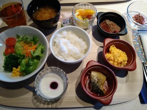 2/14 朝食バイキング@川崎キングスカイフロント東急REIホテル_b0042308_16565542.jpg