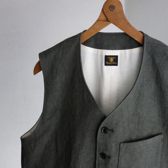 4月の製作 / DA classic vest_e0130546_17004658.jpg